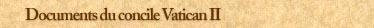 Documents du Concile Vatican II