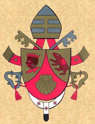 The Coat Of Arms Of His Holiness Benedict Xvi Benedict Xvi