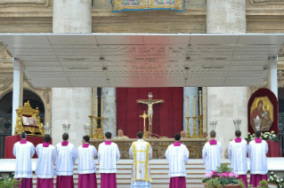 40-Holy Mass for the Opening of the Holy Door of St. Peter's Basilica