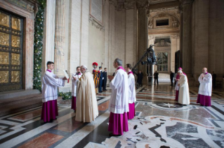 43-Holy Mass for the Opening of the Holy Door of St. Peter's Basilica