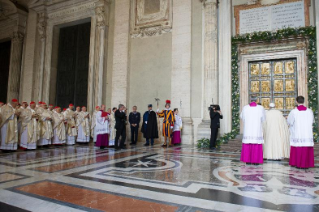 44-Holy Mass for the Opening of the Holy Door of St. Peter's Basilica