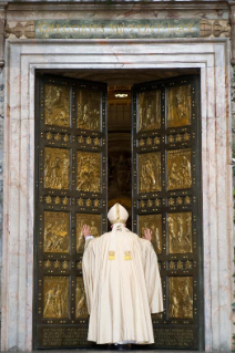46-Holy Mass for the Opening of the Holy Door of St. Peter's Basilica