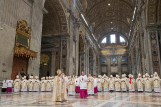 48-Holy Mass for the Opening of the Holy Door of St. Peter's Basilica