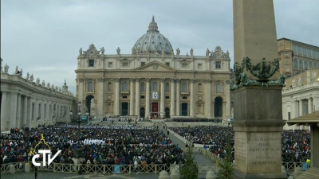 12-Holy Mass for the Opening of the Holy Door of St. Peter's Basilica