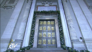 10-Holy Mass for the Opening of the Holy Door of St. Peter's Basilica