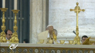 15-Holy Mass for the Opening of the Holy Door of St. Peter's Basilica