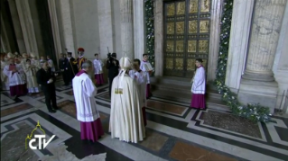 23-Holy Mass for the Opening of the Holy Door of St. Peter's Basilica
