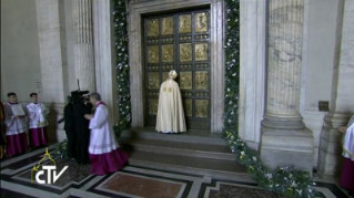 20-Holy Mass for the Opening of the Holy Door of St. Peter's Basilica