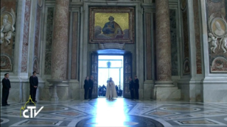 21-Holy Mass for the Opening of the Holy Door of St. Peter's Basilica