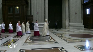 18-Holy Mass for the Opening of the Holy Door of St. Peter's Basilica