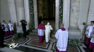 24-Holy Mass for the Opening of the Holy Door of St. Peter's Basilica