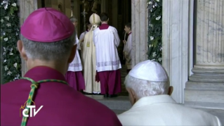 26-Holy Mass for the Opening of the Holy Door of St. Peter's Basilica