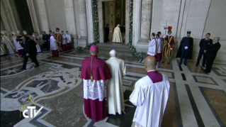 27-Holy Mass for the Opening of the Holy Door of St. Peter's Basilica