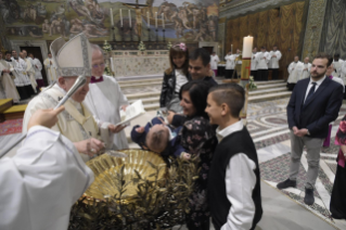 9-Feast of the Baptism of the Lord - Holy Mass and baptism of infants
