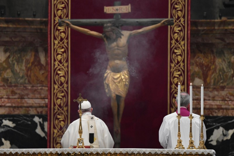 El Papa, en San Pedro