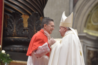 1-Ordinary Public Consistory for the Creation of New Cardinals