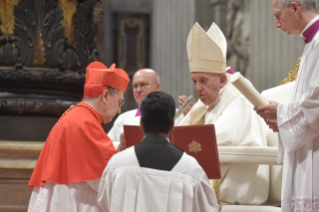 3-Ordinary Public Consistory for the Creation of New Cardinals