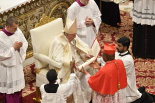 11-Ordinary Public Consistory for the Creation of New Cardinals