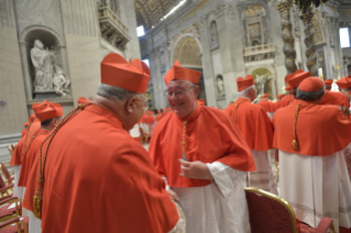 15-Ordinary Public Consistory for the Creation of New Cardinals