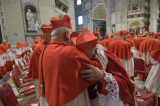 22-Ordinary Public Consistory for the Creation of New Cardinals