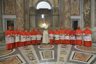 25-Ordinary Public Consistory for the Creation of New Cardinals