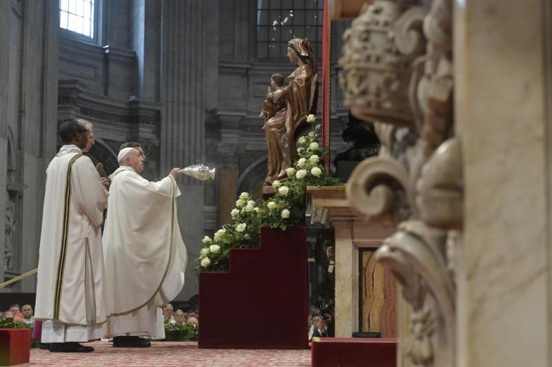 El Papa, en la Misa Crismal