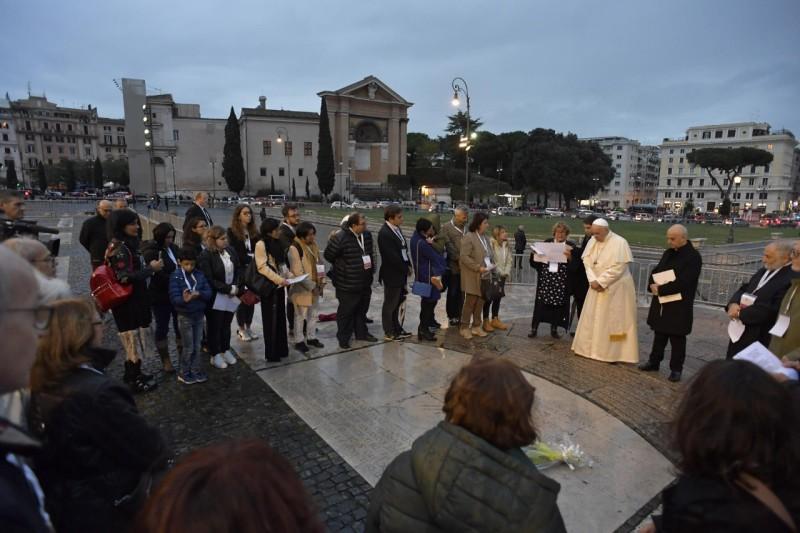 Oración papal previa a la dedicación de San Juan de Letrán