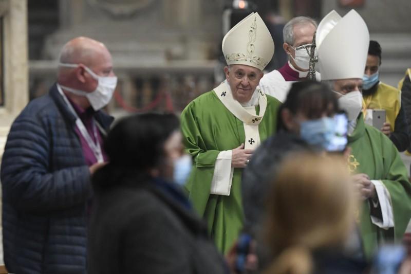 El Papa, en la misa de los pobres