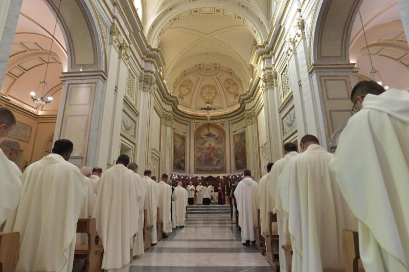 El Papa, en la catedral de Albano