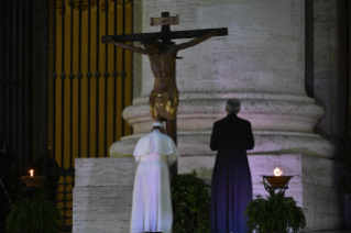 "11-Moment of prayer and ""Urbi et Orbi"" Blessing presided over by Pope Francis"