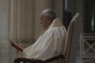 "12-Moment of prayer and ""Urbi et Orbi"" Blessing presided over by Pope Francis"