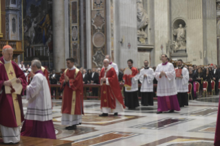 7-Holy Mass for the repose of the souls of the Cardinals and Bishops who died over the course of the year