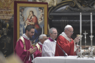 14-Holy Mass for the repose of the souls of the Cardinals and Bishops who died over the course of the year