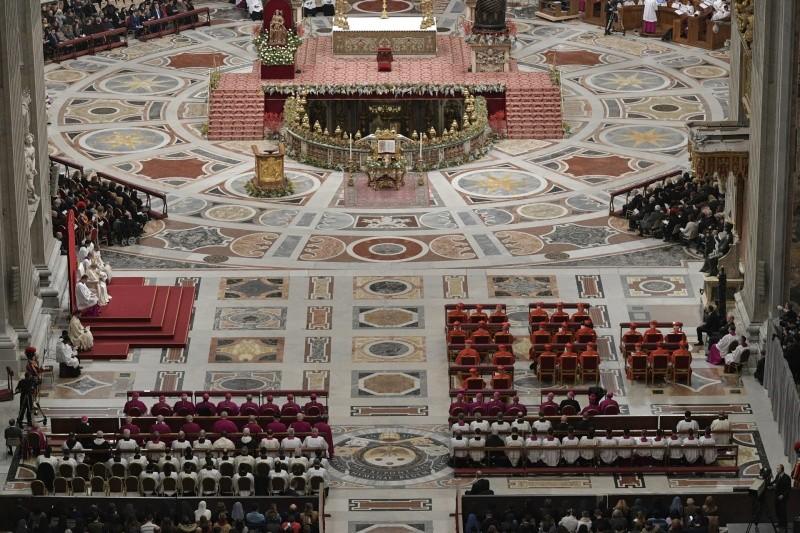 Vespers and Te Deum - أجندة البابا فرنسيس | Vatican va
