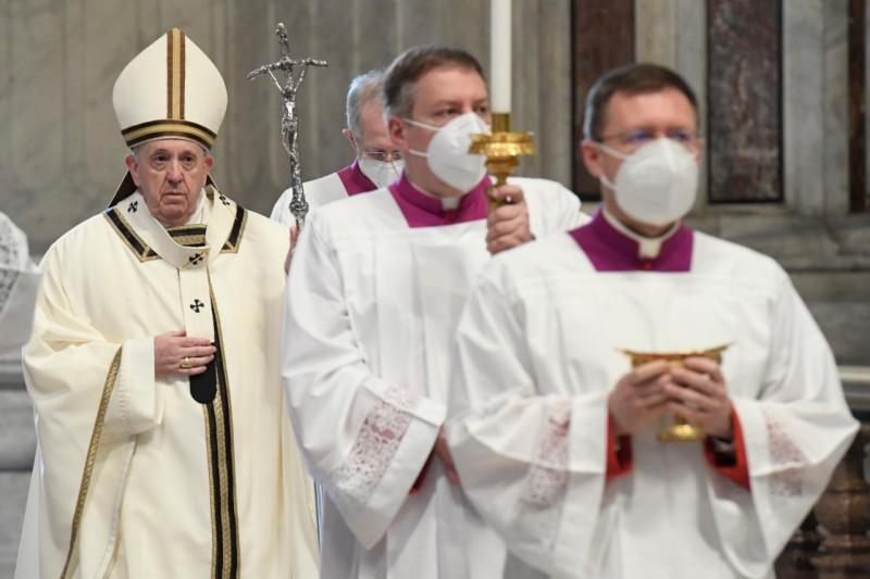 Papa, en Epifanía