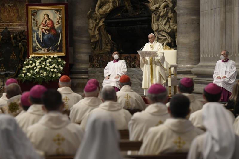 Misa del Papa por Europa