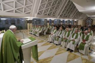 2-Morning Meditation by Pope Francis in the Chapel of the Domus Sanctae Marthae: <i>Ordained Ministry is a gift not a function</i>
