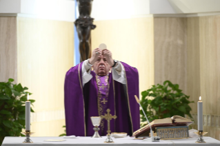 4-Holy Mass presided over by Pope Francis at the <i>Casa Santa Marta</i> in the Vatican: