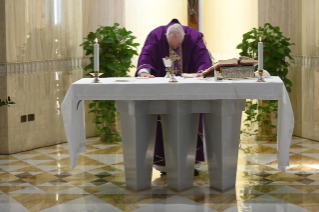 9-Holy Mass presided over by Pope Francis at the <i>Casa Santa Marta</i> in the Vatican: