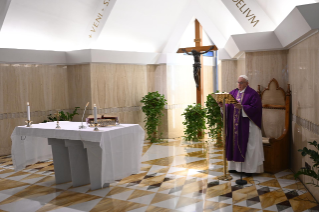 7-Holy Mass presided over by Pope Francis at the <i>Casa Santa Marta</i> in the Vatican: