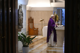 10-Holy Mass presided over by Pope Francis at the <i>Casa Santa Marta</i> in the Vatican: