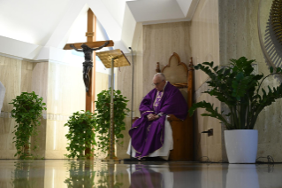 12-Holy Mass presided over by Pope Francis at the <i>Casa Santa Marta</i> in the Vatican: