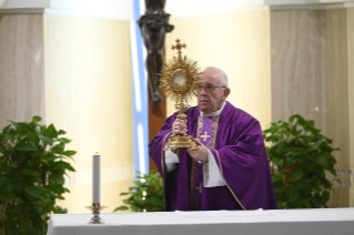 13-Holy Mass presided over by Pope Francis at the <i>Casa Santa Marta</i> in the Vatican: