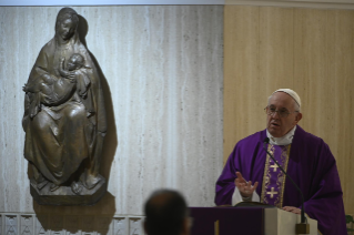 0-Holy Mass presided over by Pope Francis at the <i>Casa Santa Marta</i> in the Vatican: