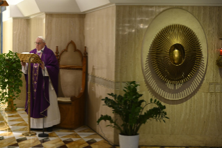 11-Holy Mass presided over by Pope Francis at the <i>Casa Santa Marta</i> in the Vatican: