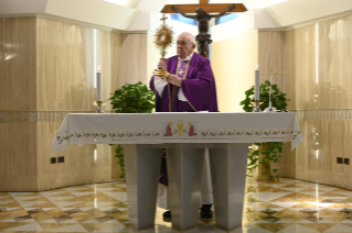 5-Holy Mass presided over by Pope Francis at the <i>Casa Santa Marta</i> in the Vatican: