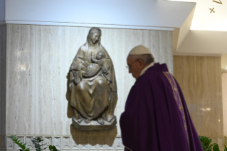 8-Holy Mass presided over by Pope Francis at the <i>Casa Santa Marta</i> in the Vatican: