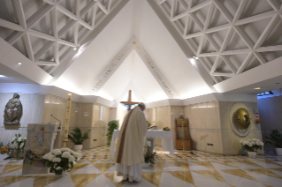 "3-Holy Mass presided over by Pope Francis at the Casa Santa Marta in the Vatican: ""Jesus is our pilgrim companion"""