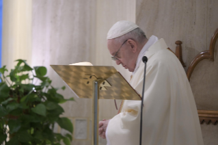 "2-Holy Mass presided over by Pope Francis at the Casa Santa Marta in the Vatican: ""Jesus is our pilgrim companion"""