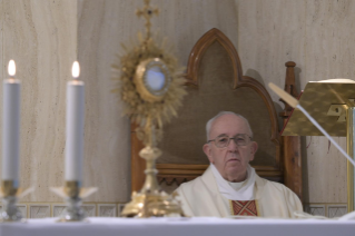 "13-Holy Mass presided over by Pope Francis at the Casa Santa Marta in the Vatican: ""Jesus is our pilgrim companion"""